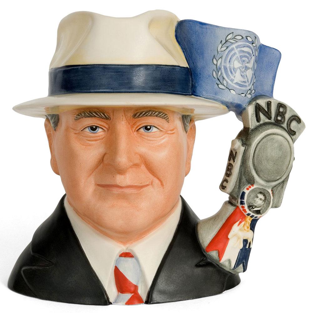 Franklin D Roosevelt D7277 - Large - Royal Doulton Character Jug