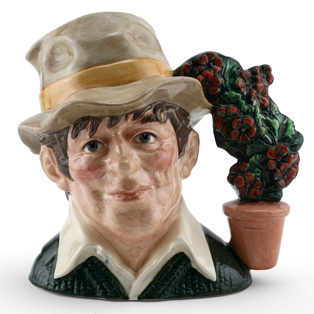 Gardener New D6867 - Large - Royal Doulton Character Jug