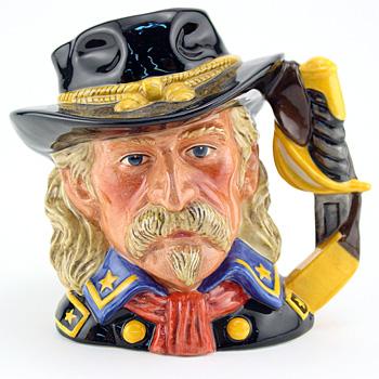 General Custer D7079 - Large - Royal Doulton Character Jug