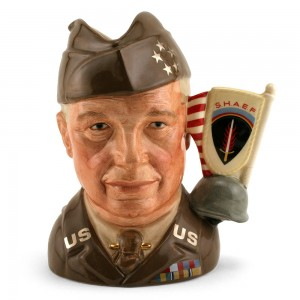 General Eisenhower D6937 - Large - Royal Doulton Character Jug