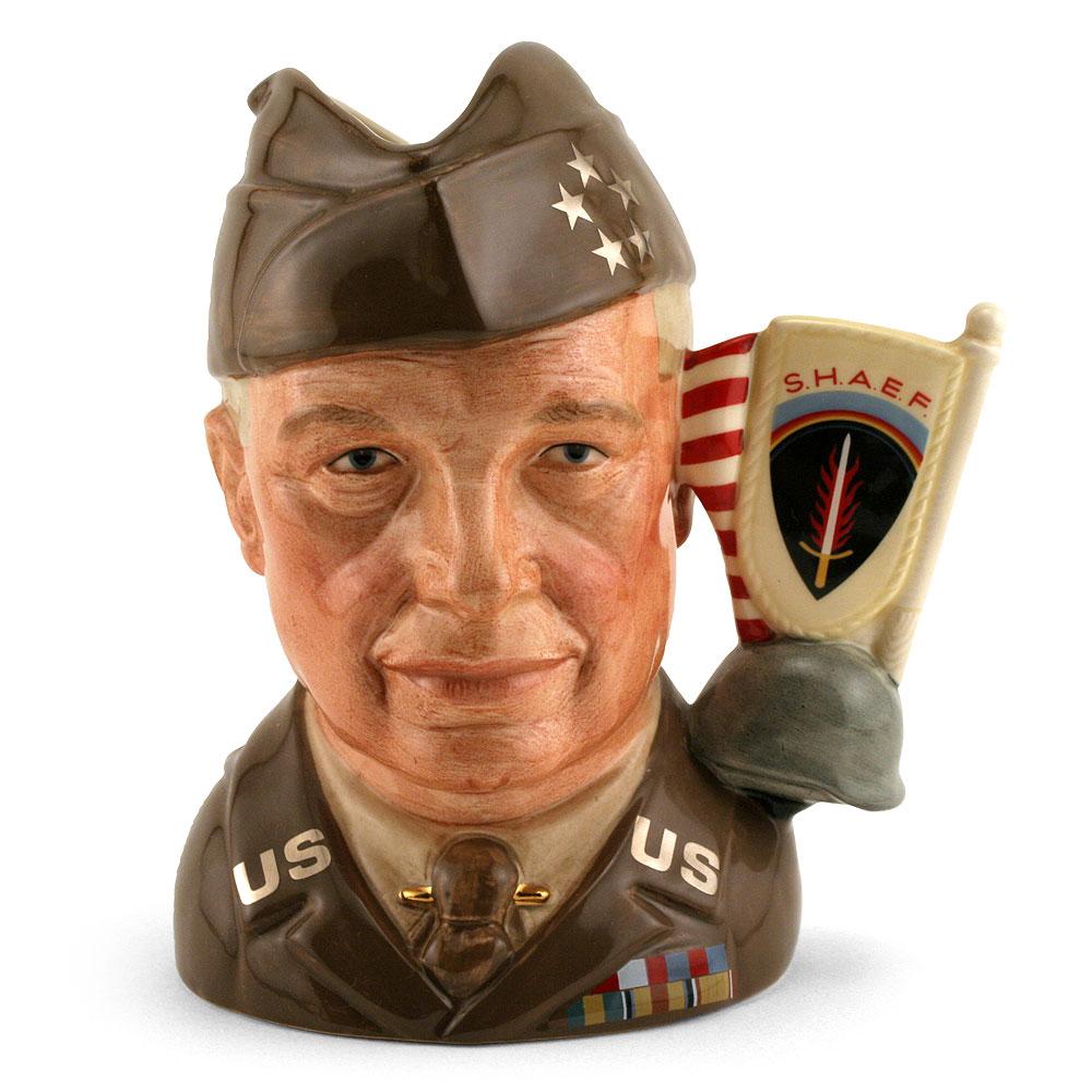 General Eisenhower D6937 - Large - Royal Doulton Character Jug
