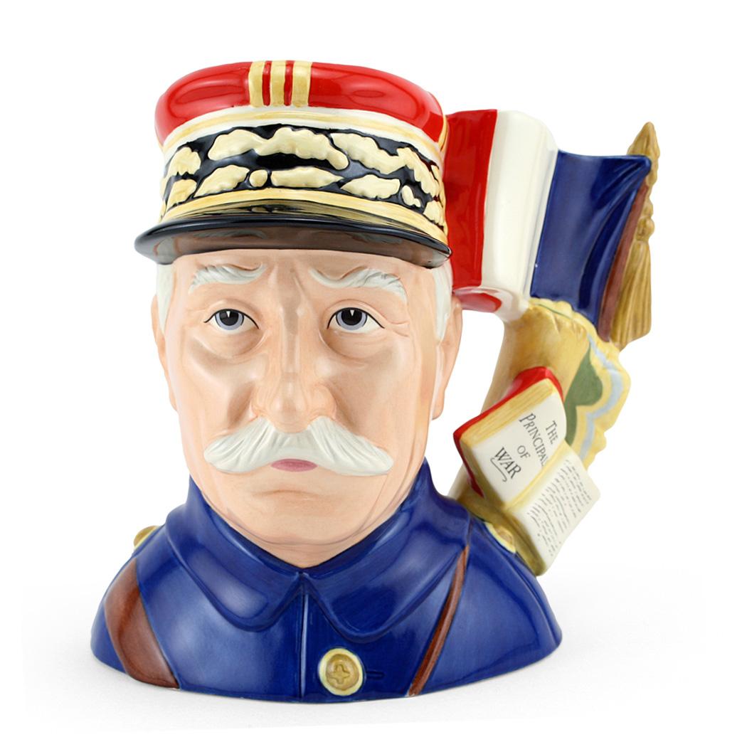General Foch D7228 - Large - Royal Doulton Character Jug