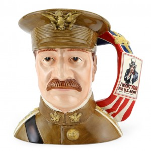 General Pershing D7230 - Large - Royal Doulton Character Jug