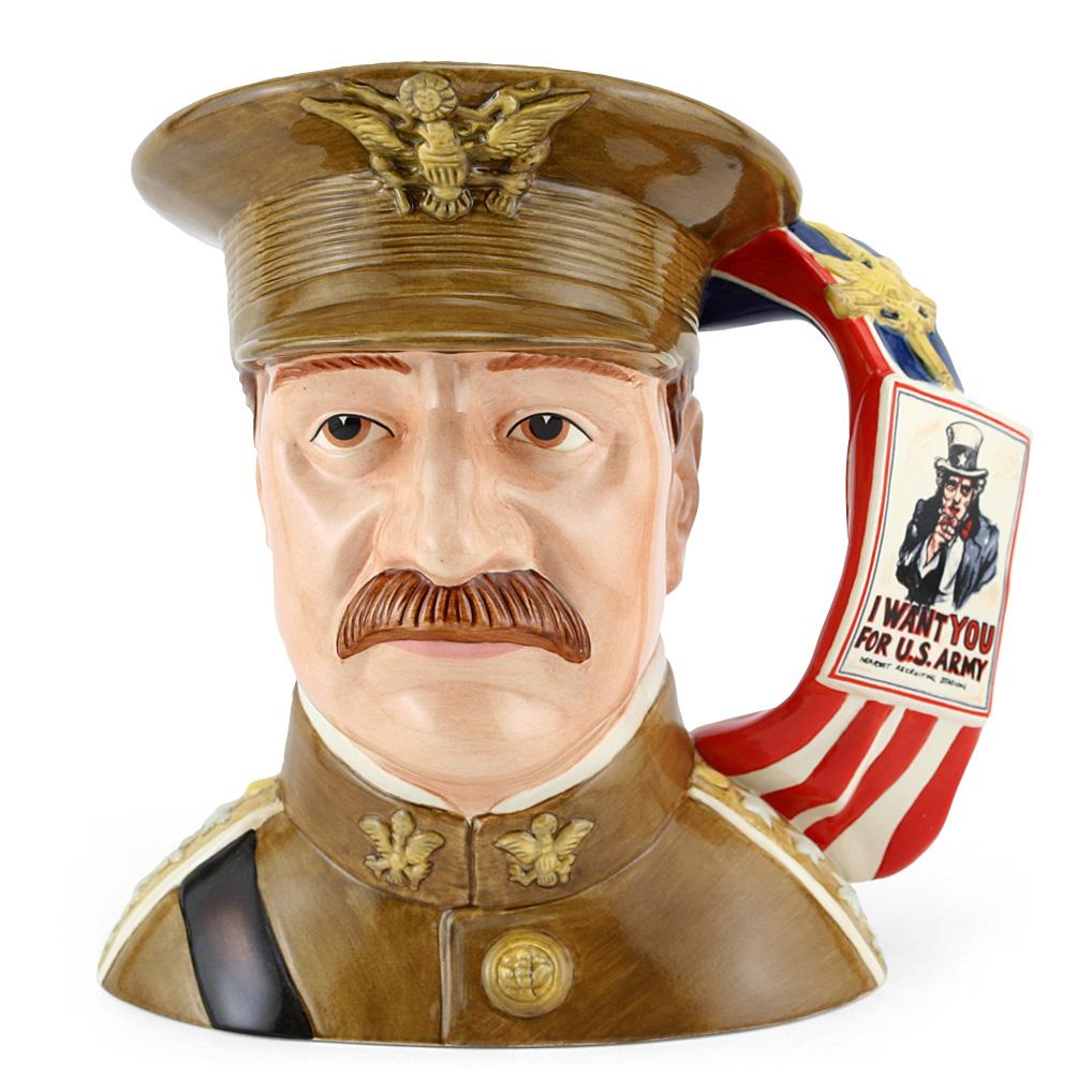 General Pershing D7230 - Large - Royal Doulton Character Jug