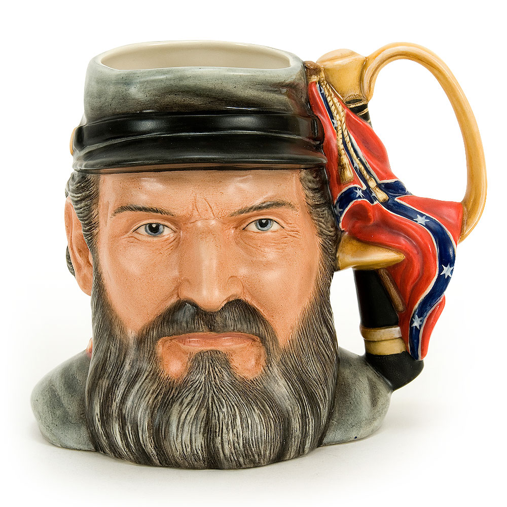 General Thomas Jackson D7294 - Large - Royal Doulton Character Jug