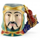 Genghis Khan D7222 - Large - Royal Doulton Character Jug