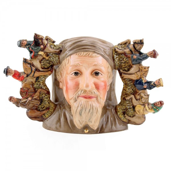 Geoffrey Chaucer D7029 - Royal Doulton Character Jug