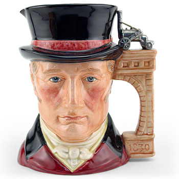 George Stephenson D7093 - Large - Royal Doulton Character Jug