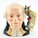 George Washington D6965 (Cherry Handle) - Large - Royal Doulton Character Jug
