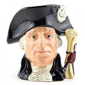 George Washington D6669 - Large - Royal Doulton Character Jug