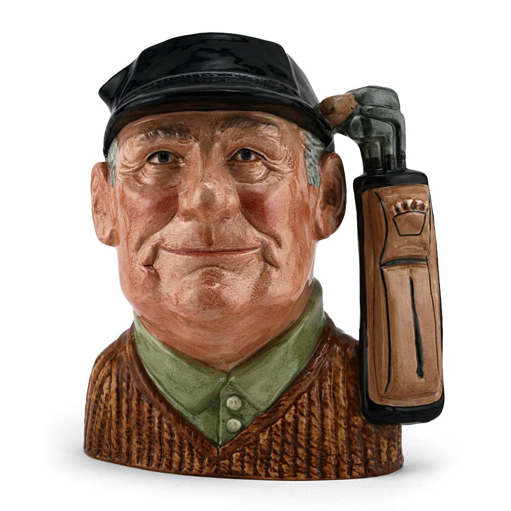 Golfer D6623 - Large - Royal Doulton Character Jug