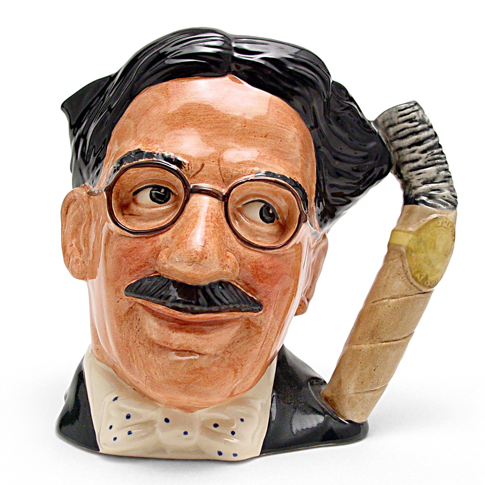 Groucho Marx D6710 - Large - Royal Doulton Character Jug
