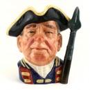 Guardsman of Williamsburg BCD65 - Royal Doulton Character Jug