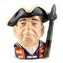 Guardsman of Williamsburg D6568 - Large - Royal Doulton Character Jug