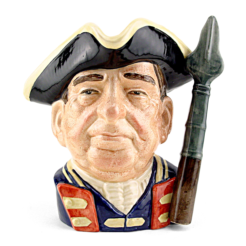 Guardsman of Williamsburg D6568 - Large - Royal Doulton Character Jug