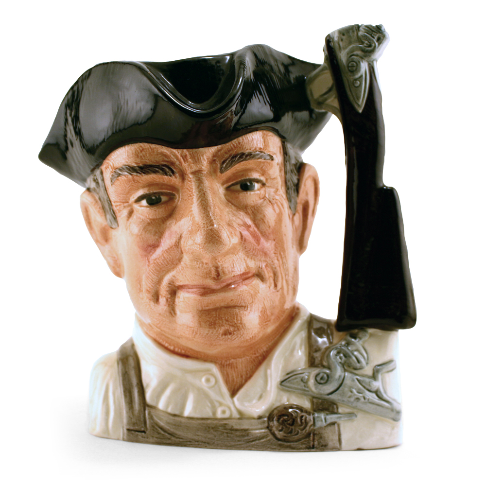 Gunsmith D6573 (Bone China) - Large - Royal Doulton Character Jug