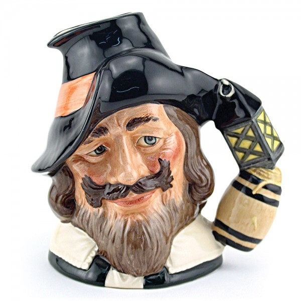 Guy Fawkes D6861 - Large - Royal Doulton Character Jug
