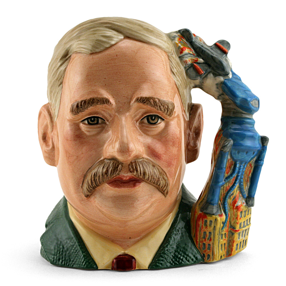 HG Wells D7095 - Large - Royal Doulton Character Jug