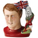 Hat Trick Hero Geoff Hurst D7262 - Large - Royal Doulton Character Jug