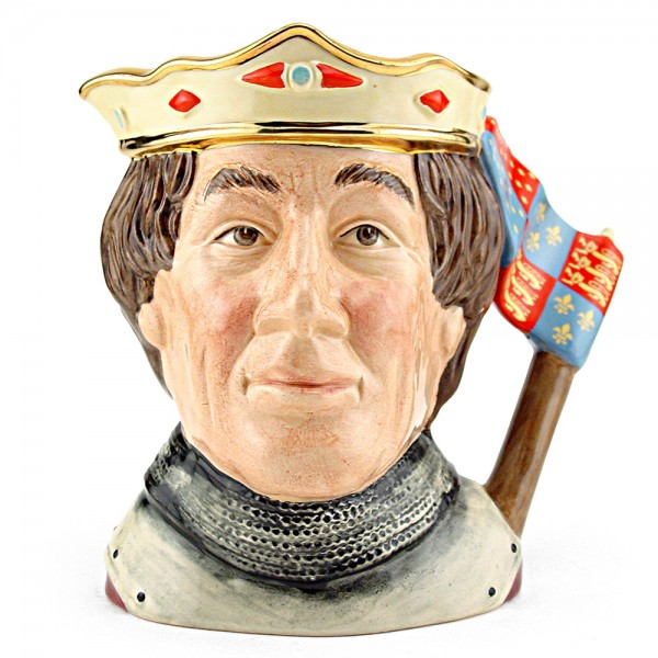 Henry V D6671 (Non Embossed) - Large - Royal Doulton Character Jug