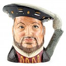 Henry VIII D6642 - Large - Royal Doulton Character Jug