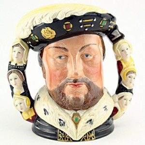 Henry VIII D6888 (Double Handled) - Large - Royal Doulton Character Jug