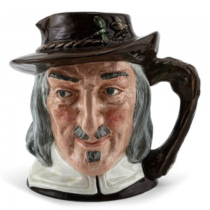 Izaak Walton D6404 (Bone China) - Large - Royal Doulton Character Jug