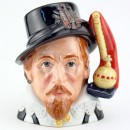James I D7181 - Large - Royal Doulton Character Jug