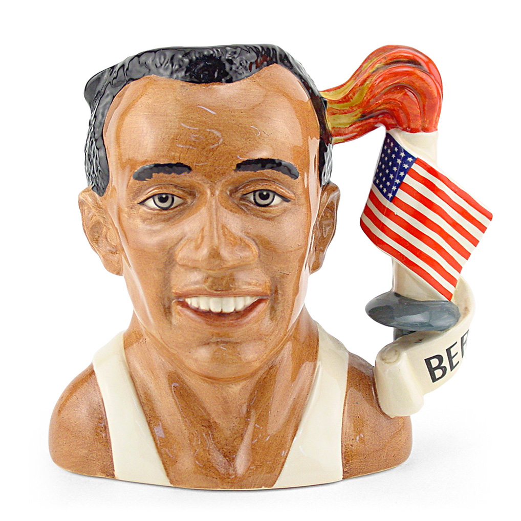 Jesse Owens D7019 - Large - Royal Doulton Character Jug