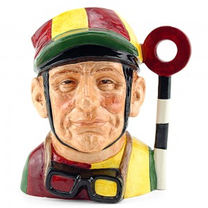 Jockey Old D6625 - Large - Royal Doulton Character Jug