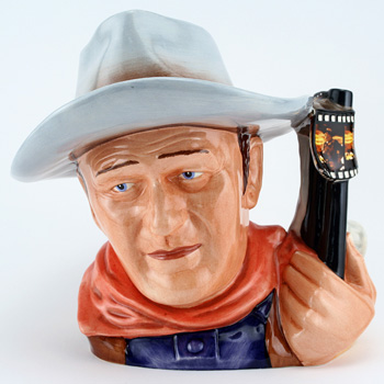 John Wayne D7269 (2007 Jug of the Year) - Large - Royal Doulton Character Jug