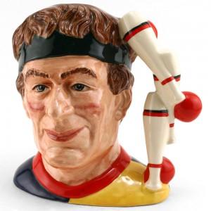 Juggler D6835 - Large - Royal Doulton Character Jug