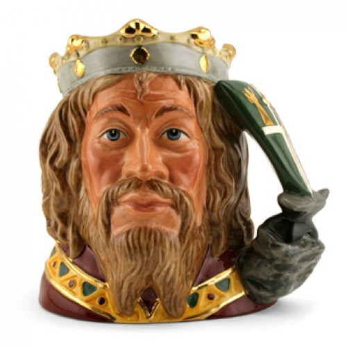 King Arthur D7055 - Large - Royal Doulton Character Jug