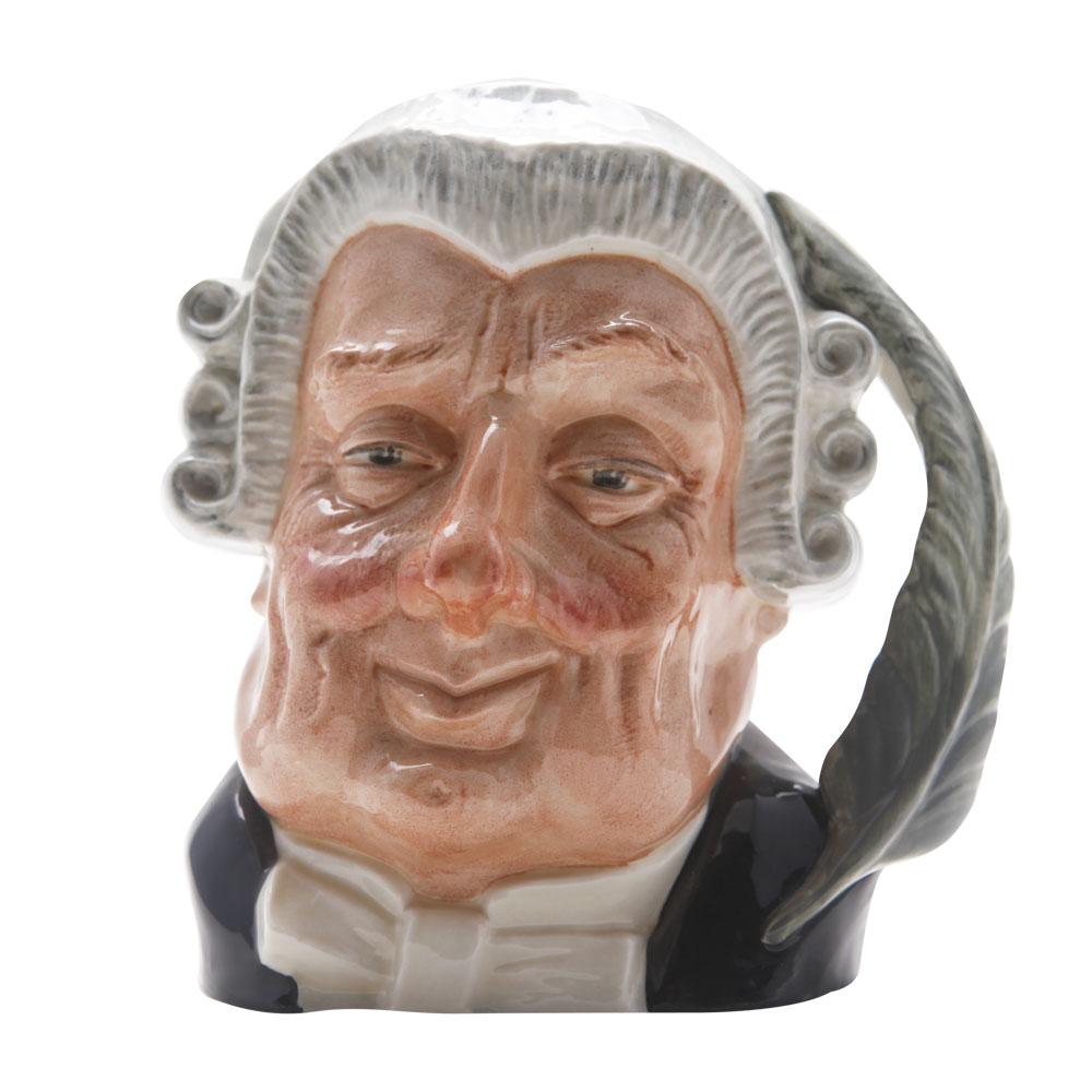 Lawyer (Bone China) D6498BC - Royal Doulton Character Jugs - Large - Royal Doulton Character Jug