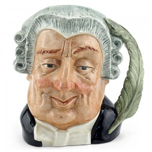 Lawyer D6498 - Large - Royal Doulton Character Jug