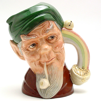 Leprechaun D6847 - Large - Royal Doulton Character Jug