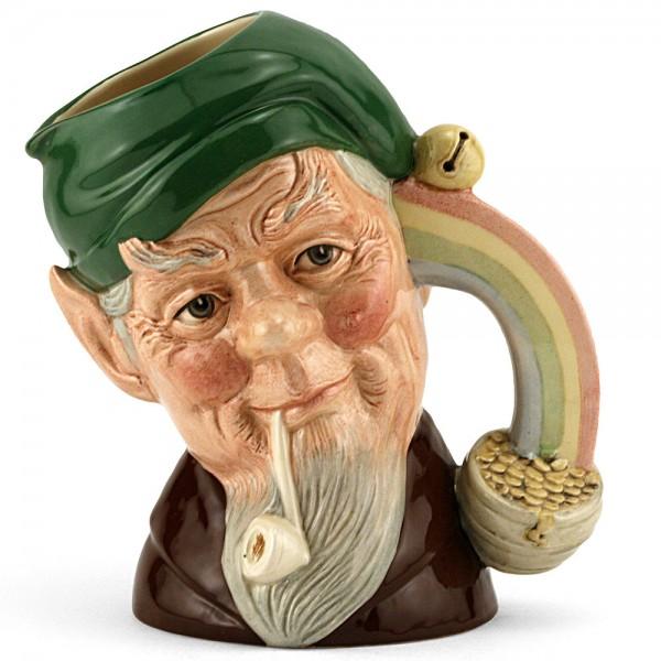 Leprechaun Site Green D6847 - Large - Royal Doulton Character Jug