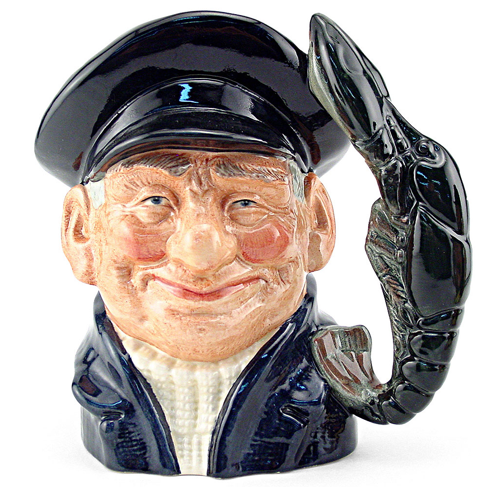 Lobsterman D6617 - Large - Royal Doulton Character Jug