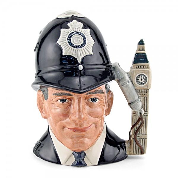 London Bobby Embossed D6744 - Large - Royal Doulton Character Jug