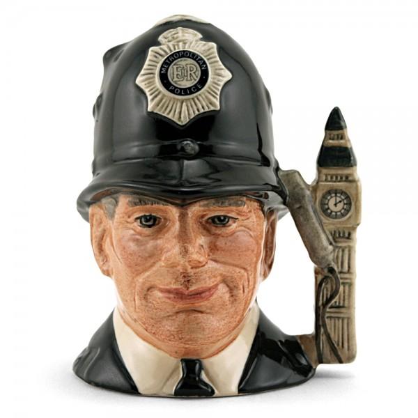 London Bobby D6744 (Non Embossed) - Large - Royal Doulton Character Jug