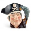 Long John Silver D6335 - Royal Doulton Small Character Jug - Royal Doulton Character Jug