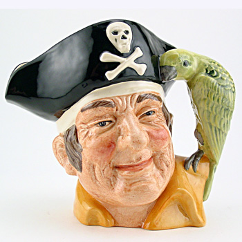 Long John Silver D6799 - Large - Royal Doulton Character Jug
