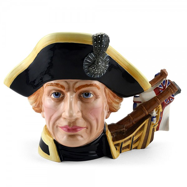 Lord Horatio Nelson D7236 (Jug of the Year 2005) - Large - Royal Doulton Character Jug