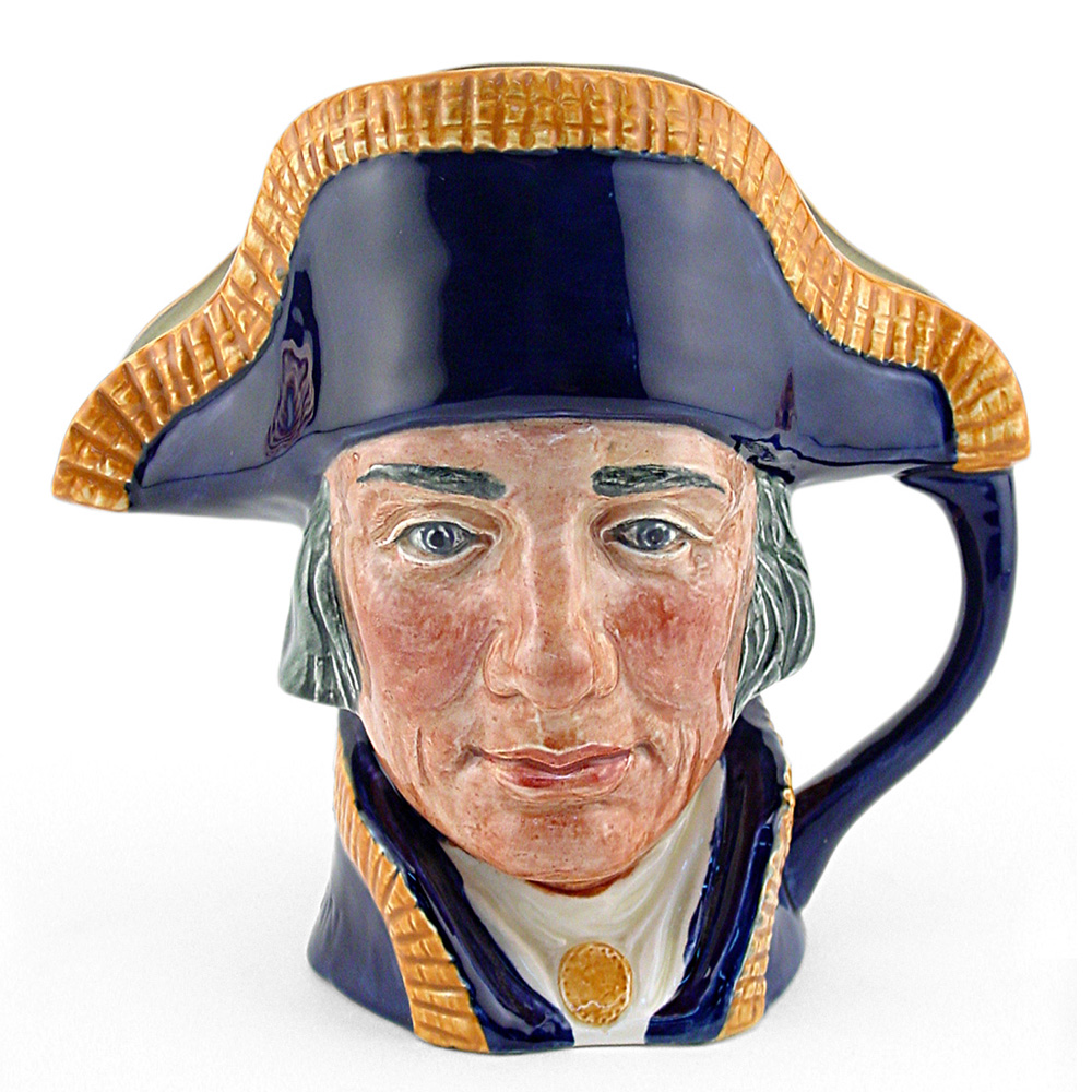 Lord Nelson D6336 - Large - Royal Doulton Character Jug