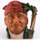 Lumberjack Centenary D6610 - Large - Royal Doulton Character Jug