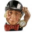 Mad Hatter D6598 (Bone China) - Large - Royal Doulton Character Jug