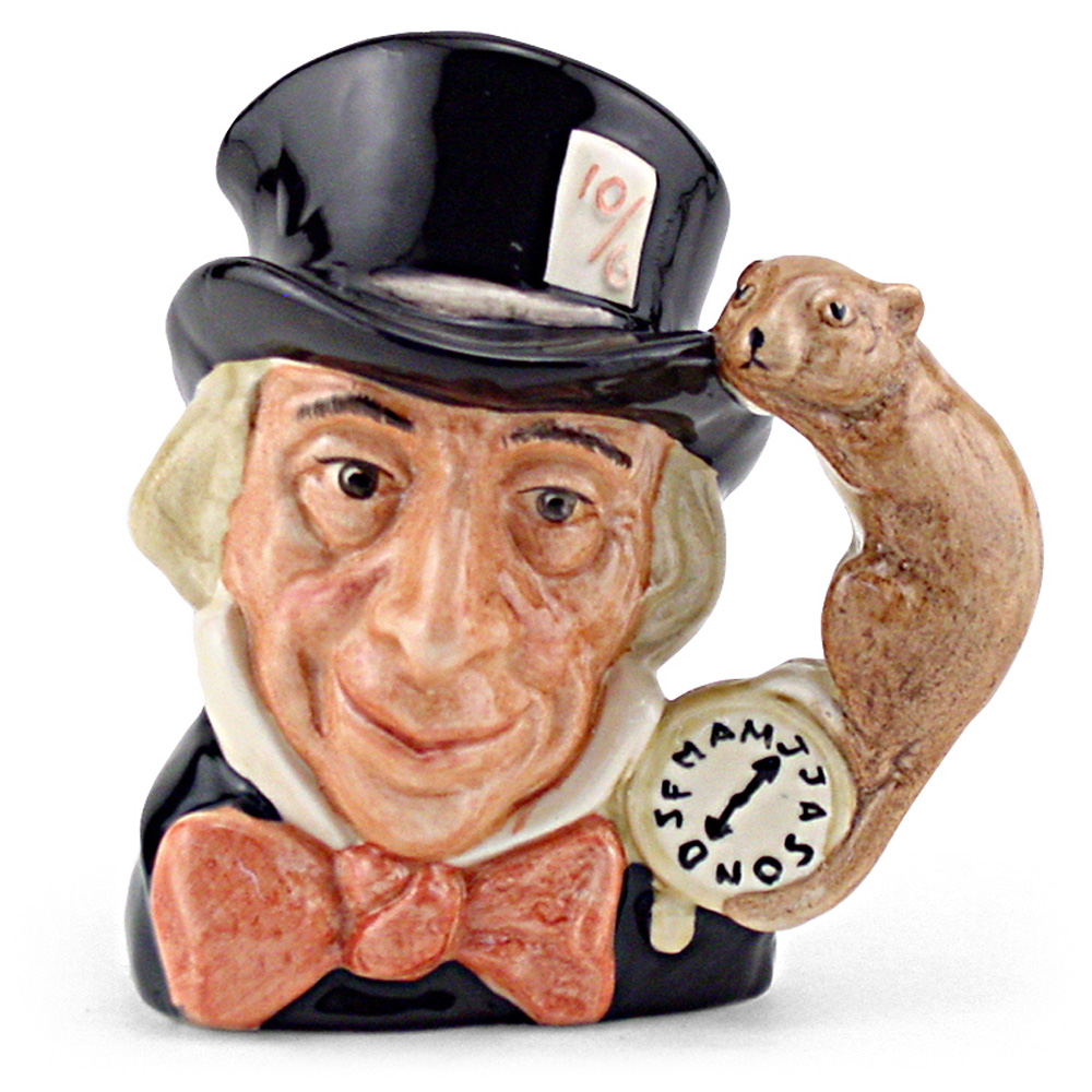 Mad Hatter D6598 - Large - Royal Doulton Character Jug