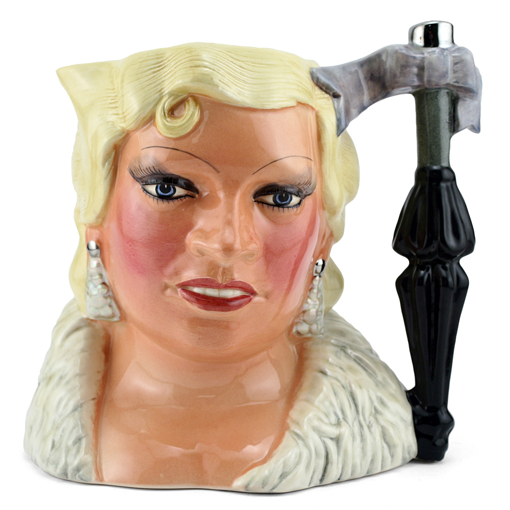 Mae West D6688 (Amex Backstamp) - Large - Royal Doulton Character Jug