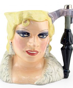 Mae West D6688 - Large - Royal Doulton Character Jug