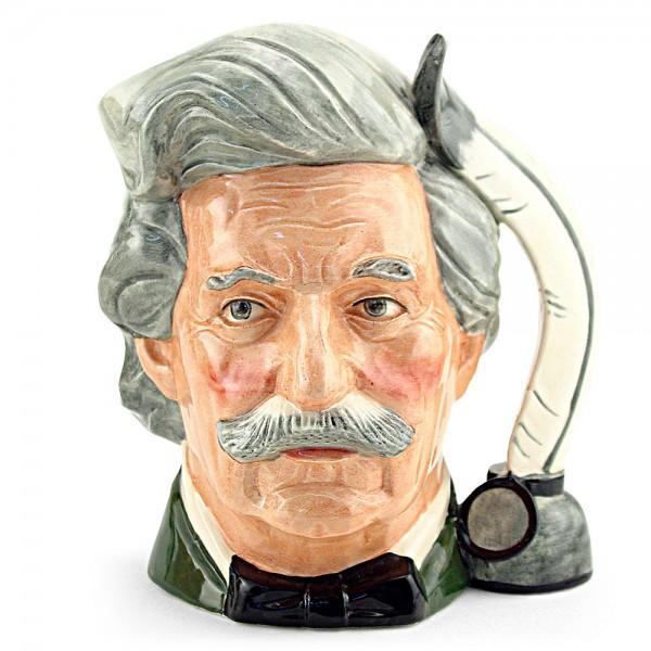 Mark Twain D6654 - Large - Royal Doulton Character Jug